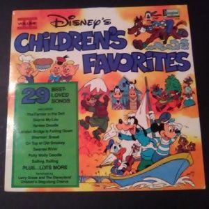 Disney's Children's Favorites Volume II LP Record